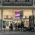 10_Afflelou Vitrine noel nouveau magasin de Rivoli