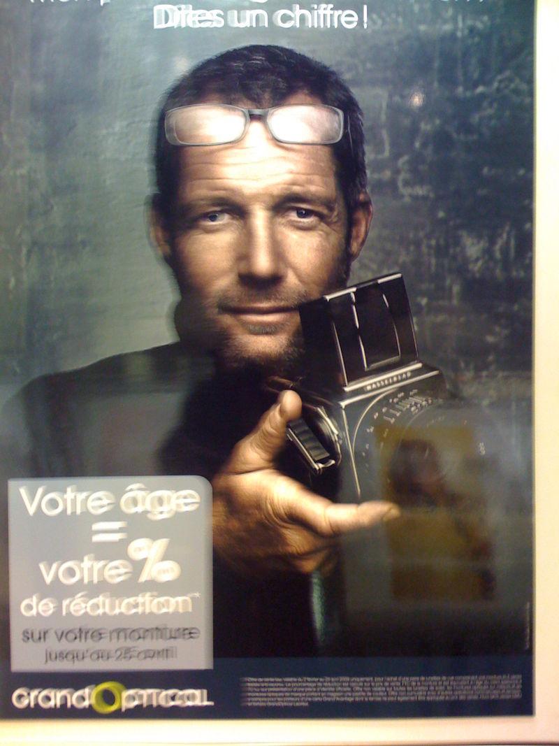 Le reporter de Grand Optical