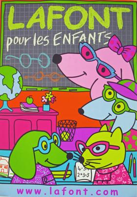 Affiche Lunettes Lafont pour Les Plus Belles Lunettes du Monde