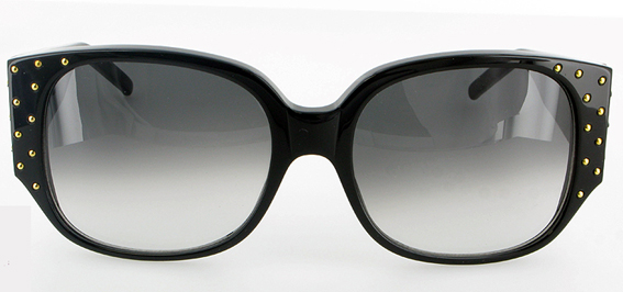 Emmanuelle_khanh_paris_sunglasses_cerclee_noire_vintage