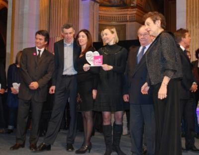 Remise a Amelie Morel du prix du créateur de l'année de Paris Capitale de la création