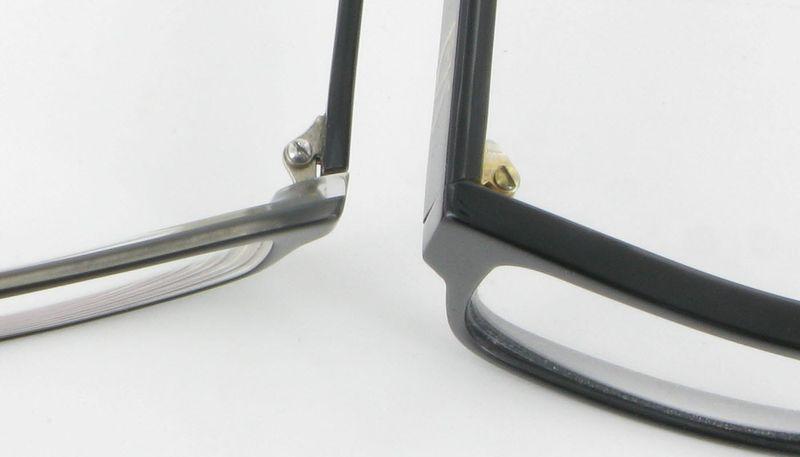Qualité de fabrication de lunettes
