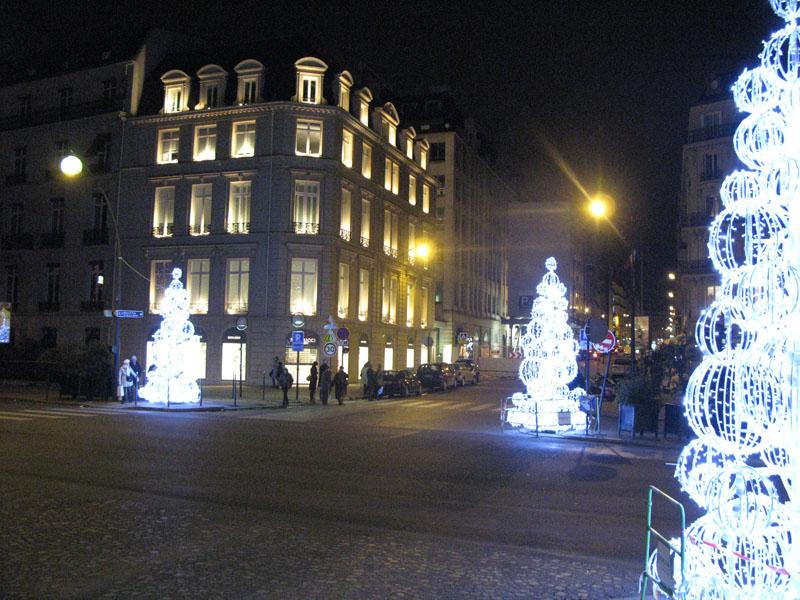 Boutique Nina Ricci Avenue Montaigne et Rue Francois 1er