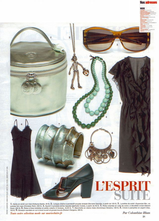 -FR- Marie Claire 010806