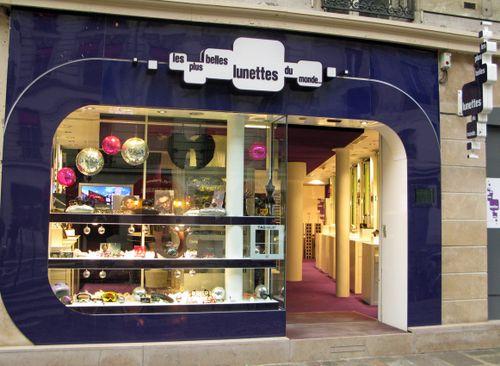 06_Vitrine Les plus Belles lunettes du Monde Noel 2008